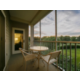 Private furnished balcony in guest villa