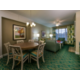 Enjoy a separate dining table and living room in your 2-bdrm villa
