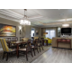 Signature Collection, elegant dining table w/ separate living room