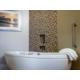 Lavish decor and beautiful upgrades in Signature Collection bath