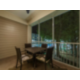 Screened-in patio in a Signature Collection unit