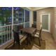 Screened-in balcony in Sigature Collection unit
