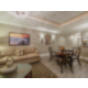 Signature Collection living and dining area