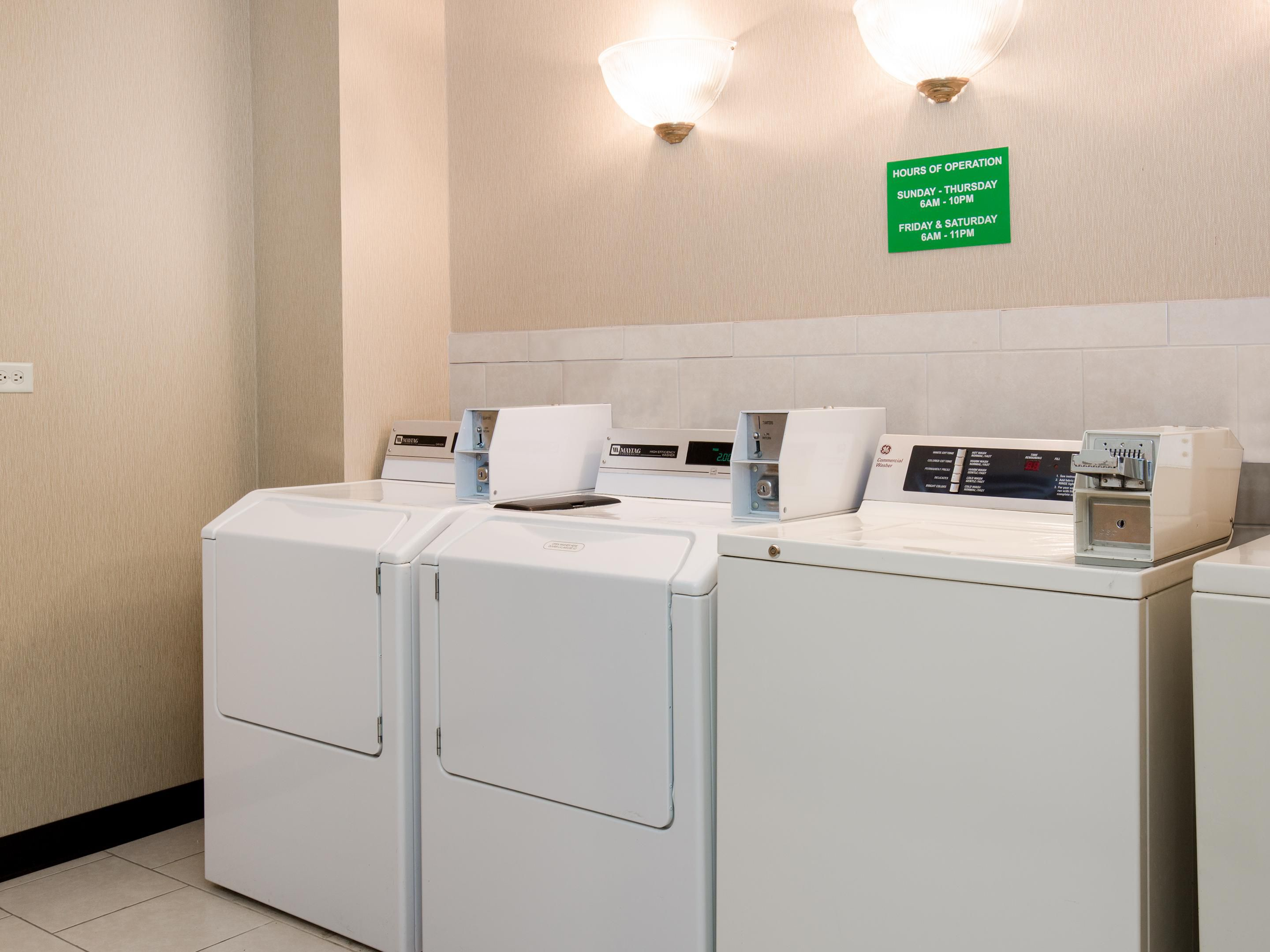 Guest Laundry Area