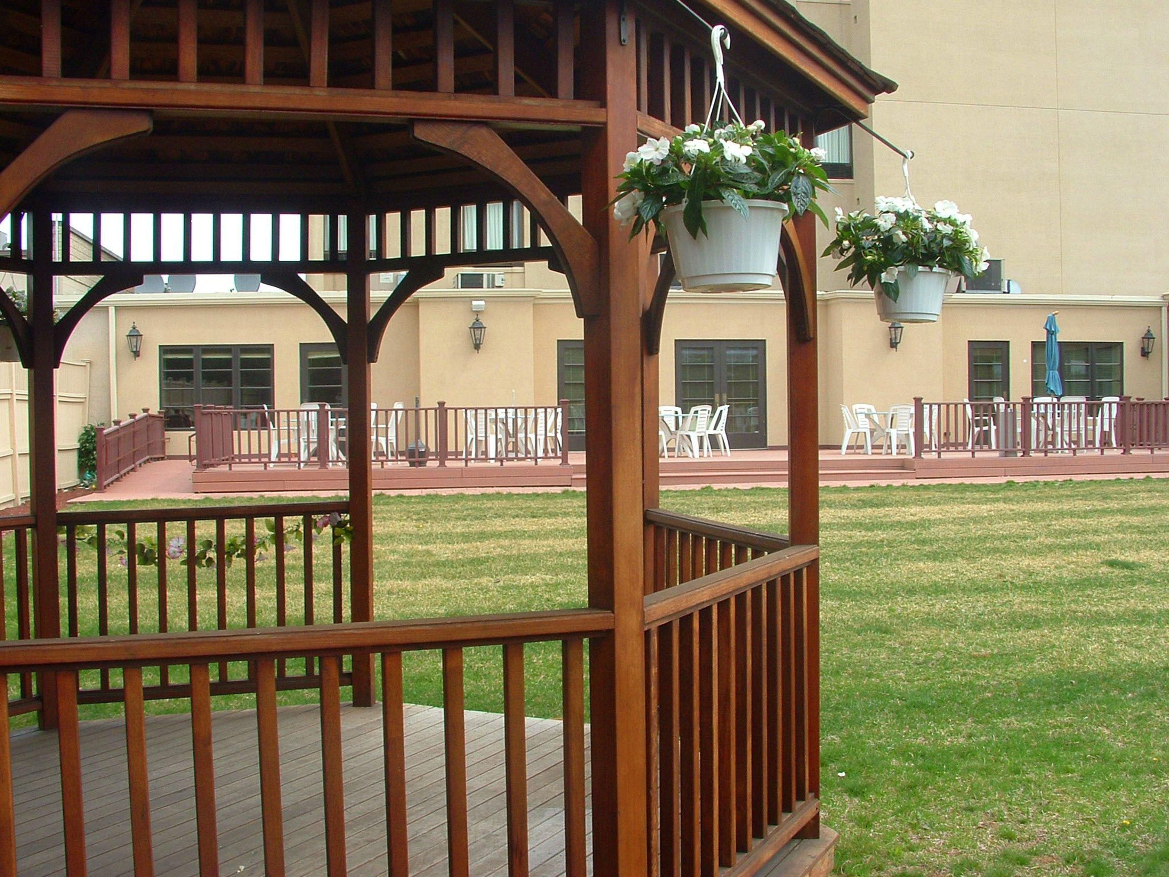 Gazebo is ideal for ceremony