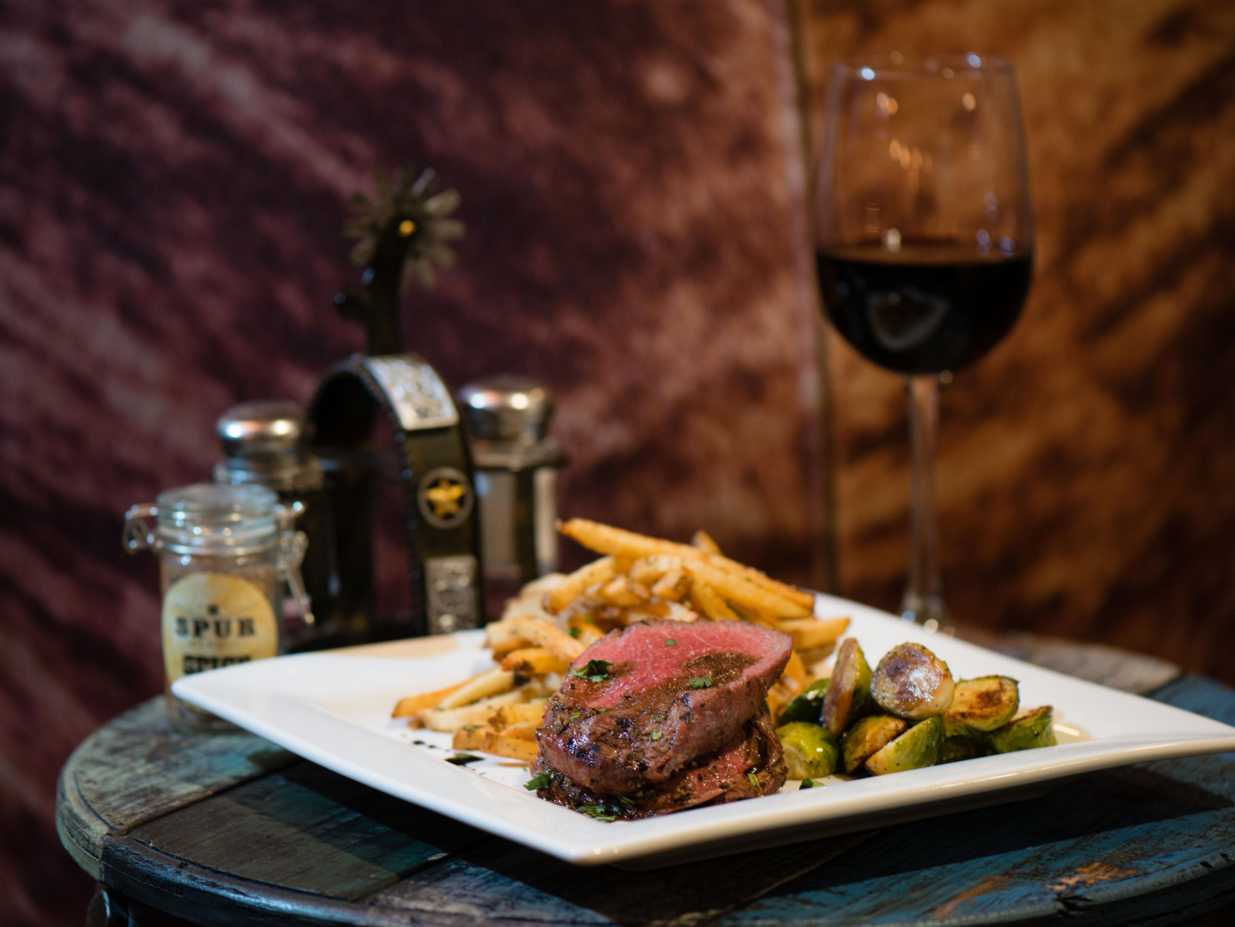 Grilled Steak and Frites