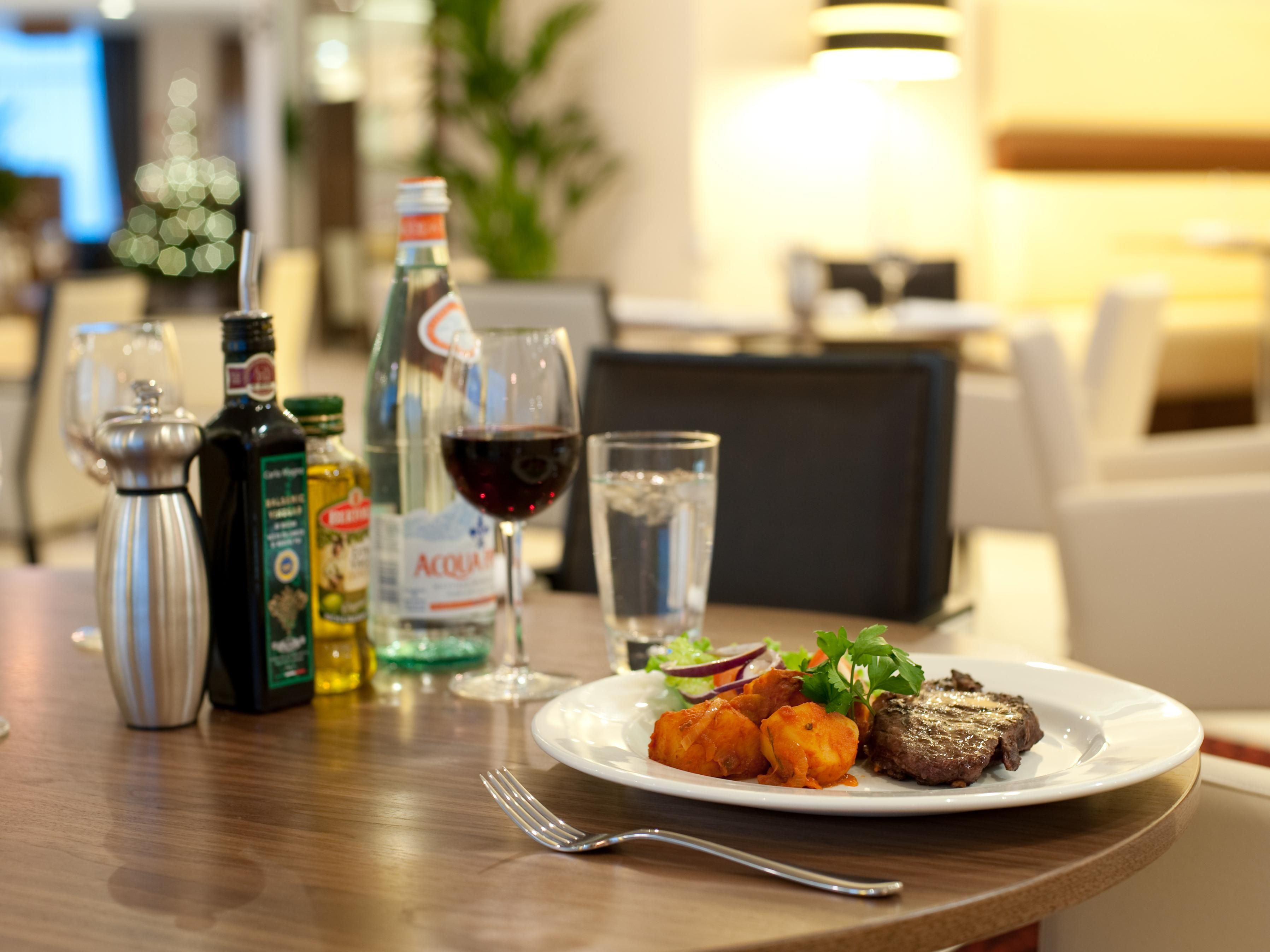 Why not try one of our delicious dishes in our restaurant?