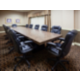 Executive Conference room for 14 with leather seating