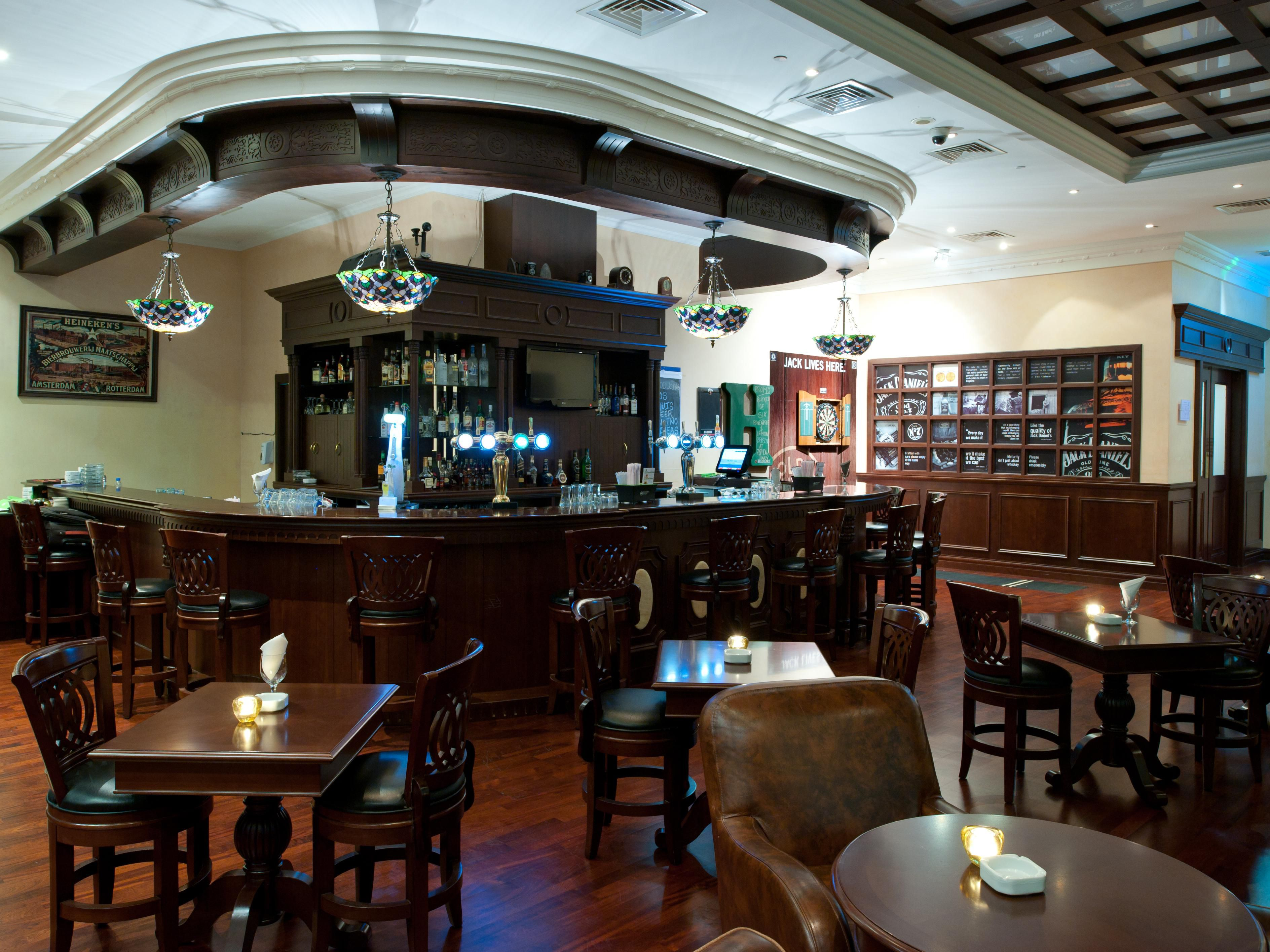 Enjoy your free time at the Two Guineas Bar
