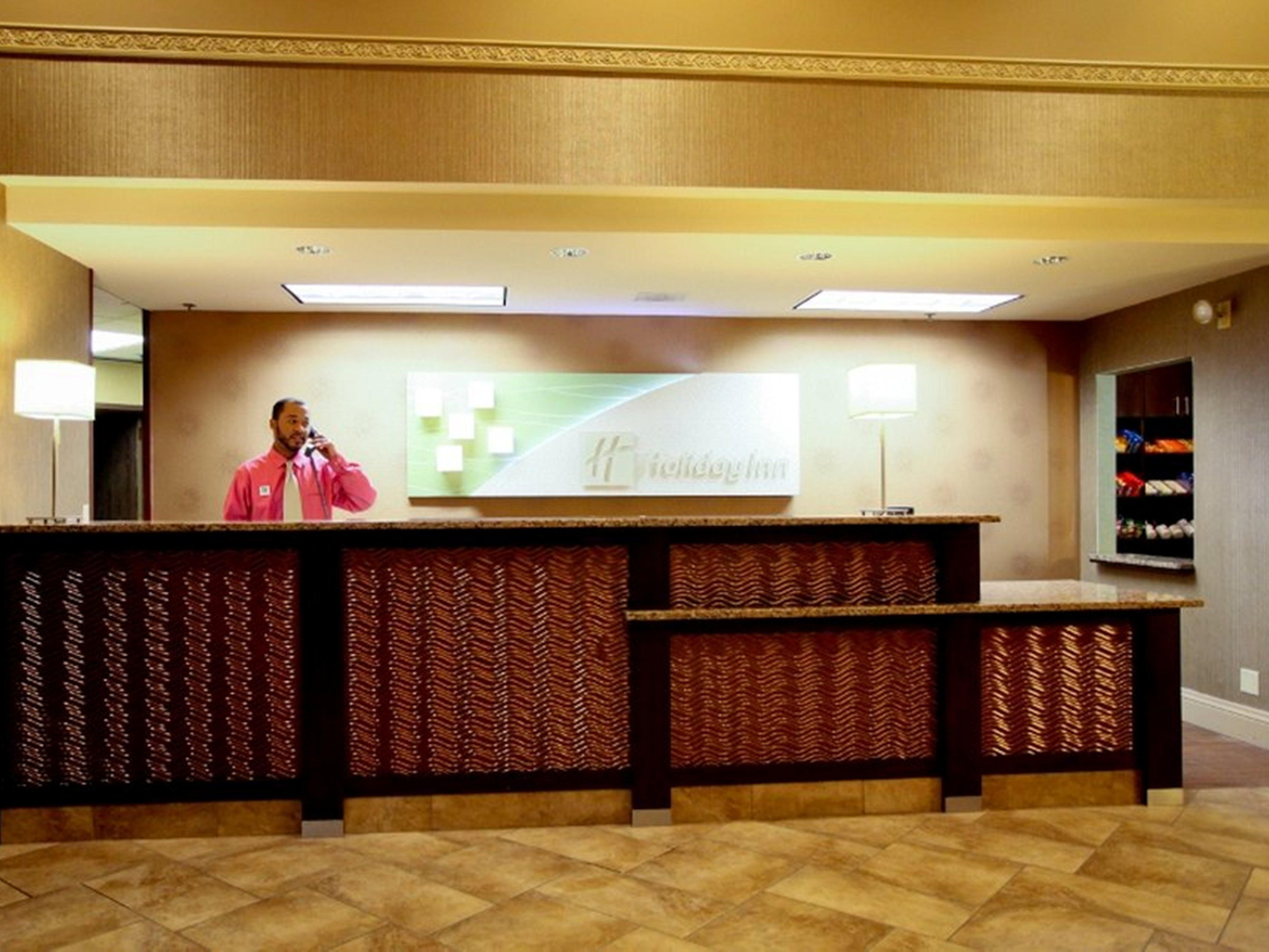 Our warm and welcoming staff is looking forward to your arrival.
