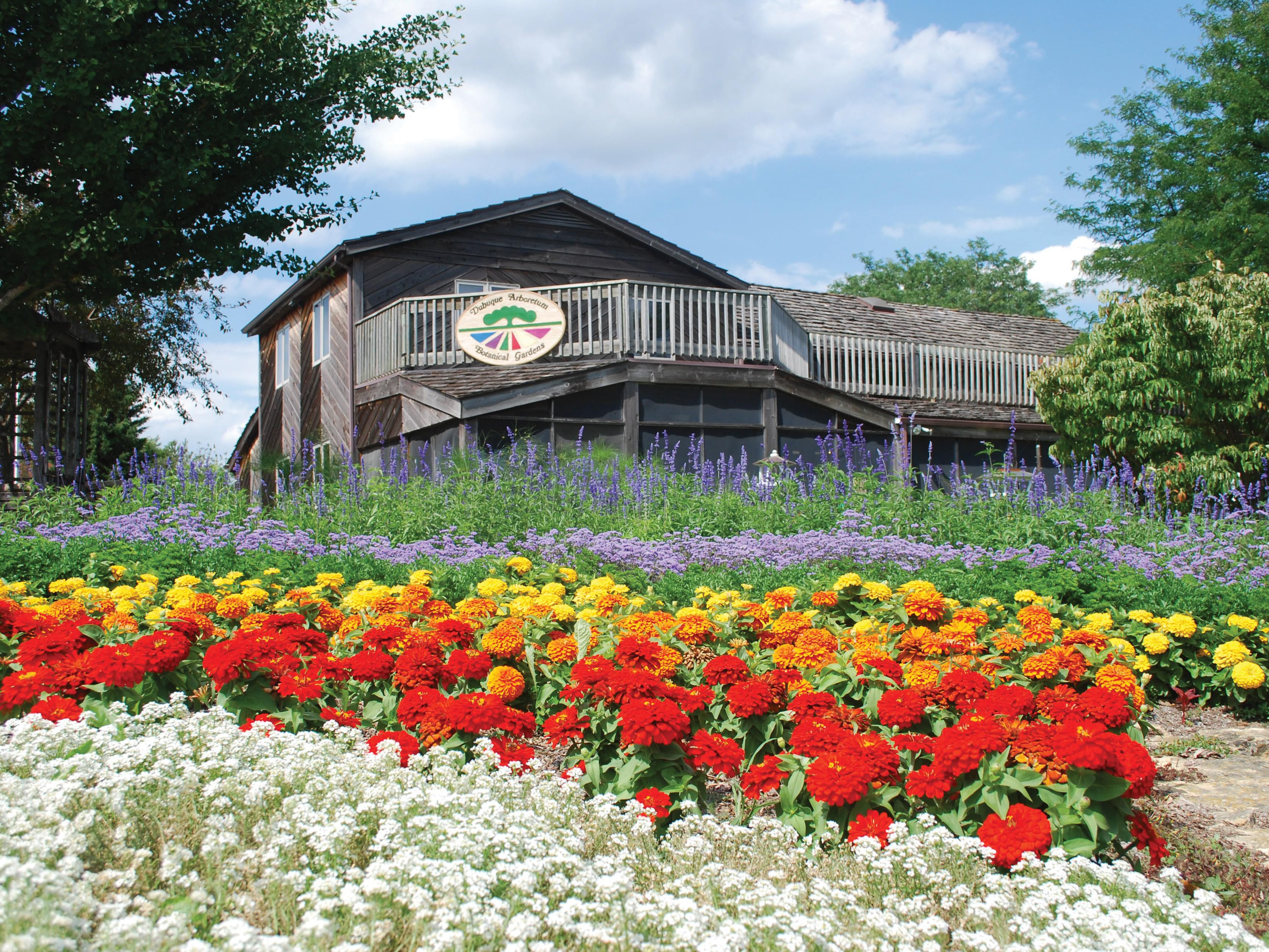 The Dubuque Arboretum is open year-round