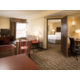 2-Room Suite with separate areas to work, sleep, and relax.