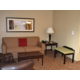Living Area of the King Exec Suite at Holiday Inn Eau Claire South