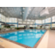 Make a splash and blow off some steam in our indoor swimming pool.