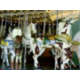 The Carousel, with a brass ring feeder, at Eldridge Park, Elmira