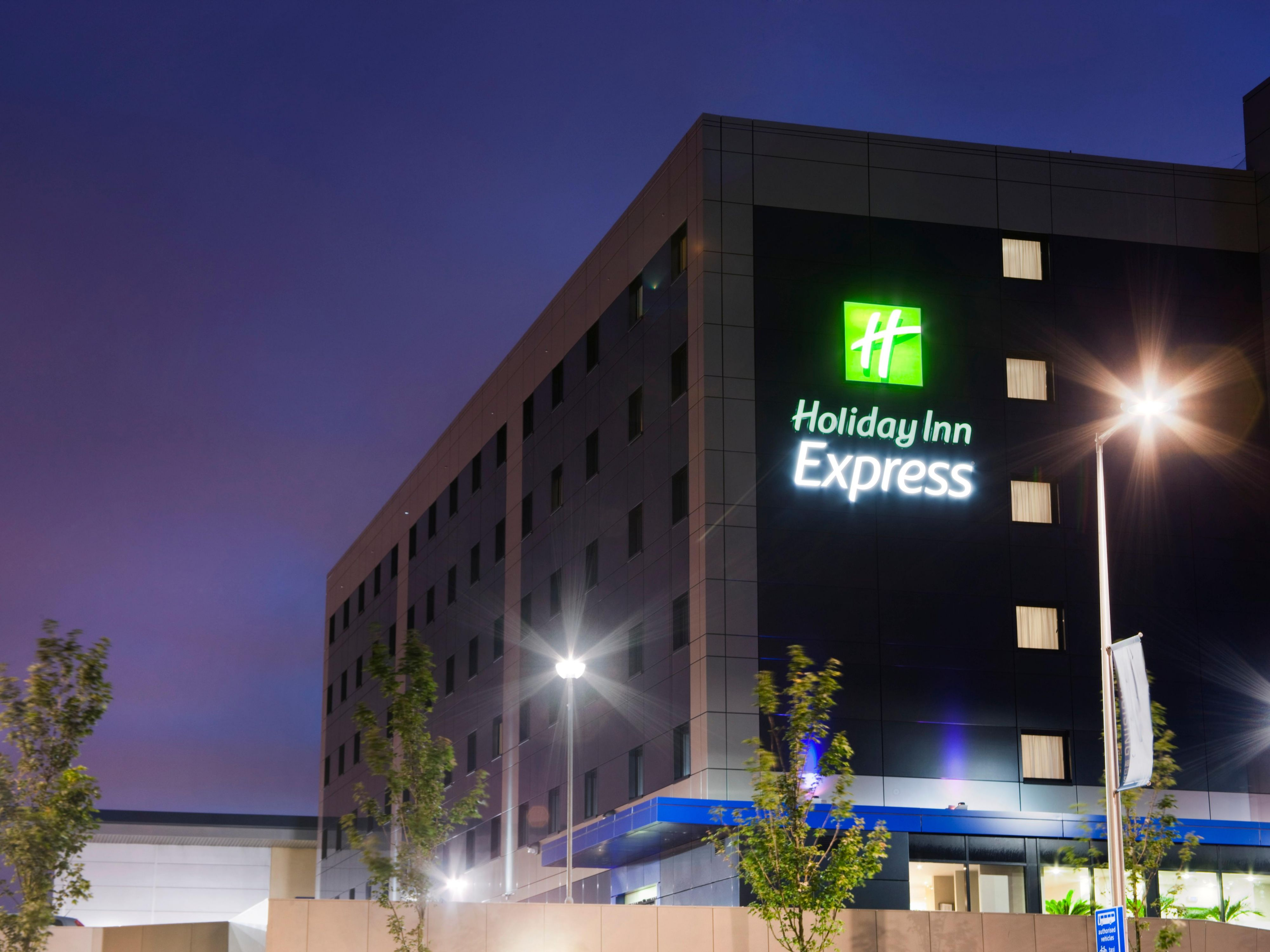 Exterior Side view of Holiday Inn Express AECC