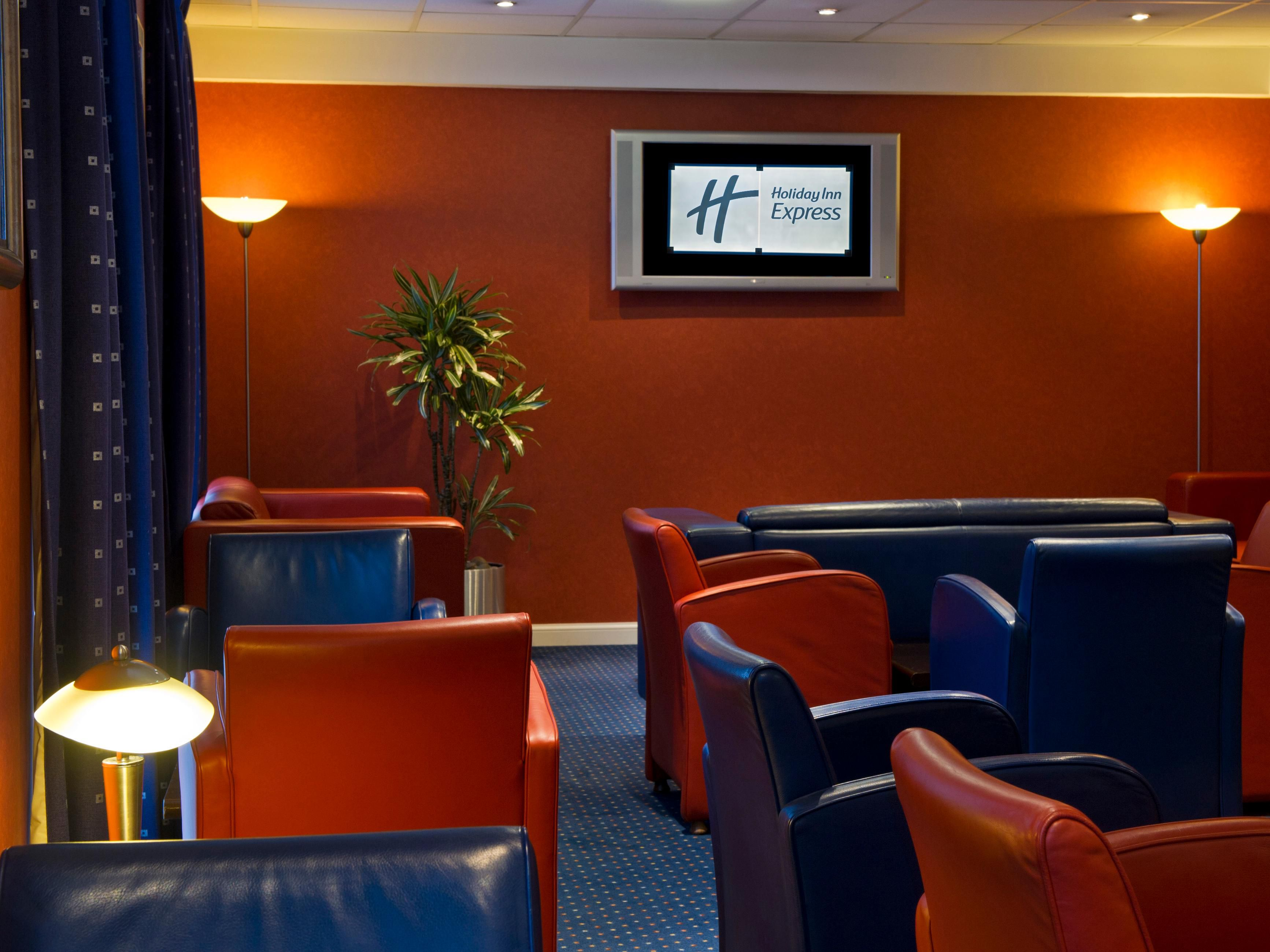 Catch some sports action with a pint in our comfortable bar