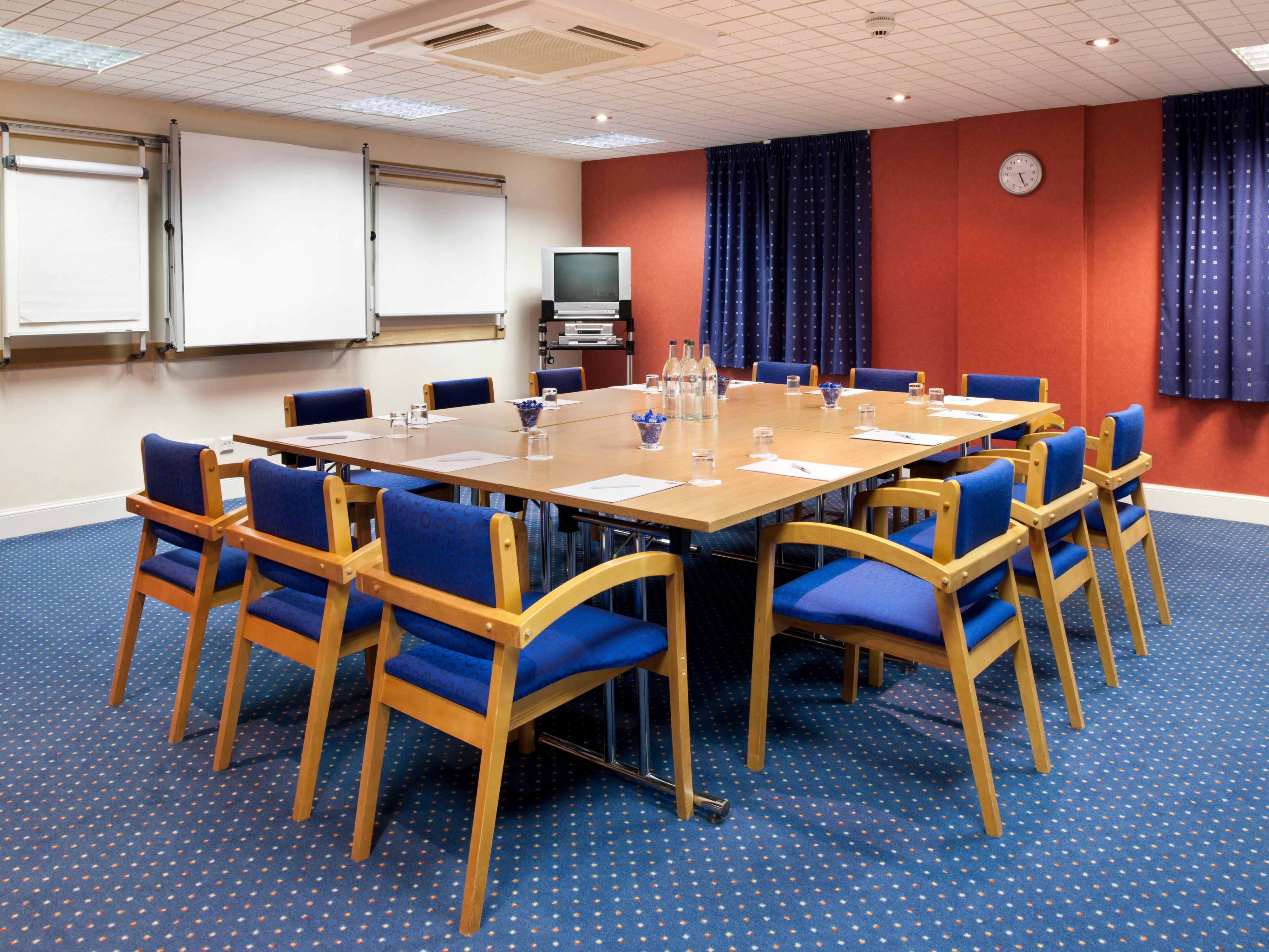 Training course or board meeting, we can help with that...