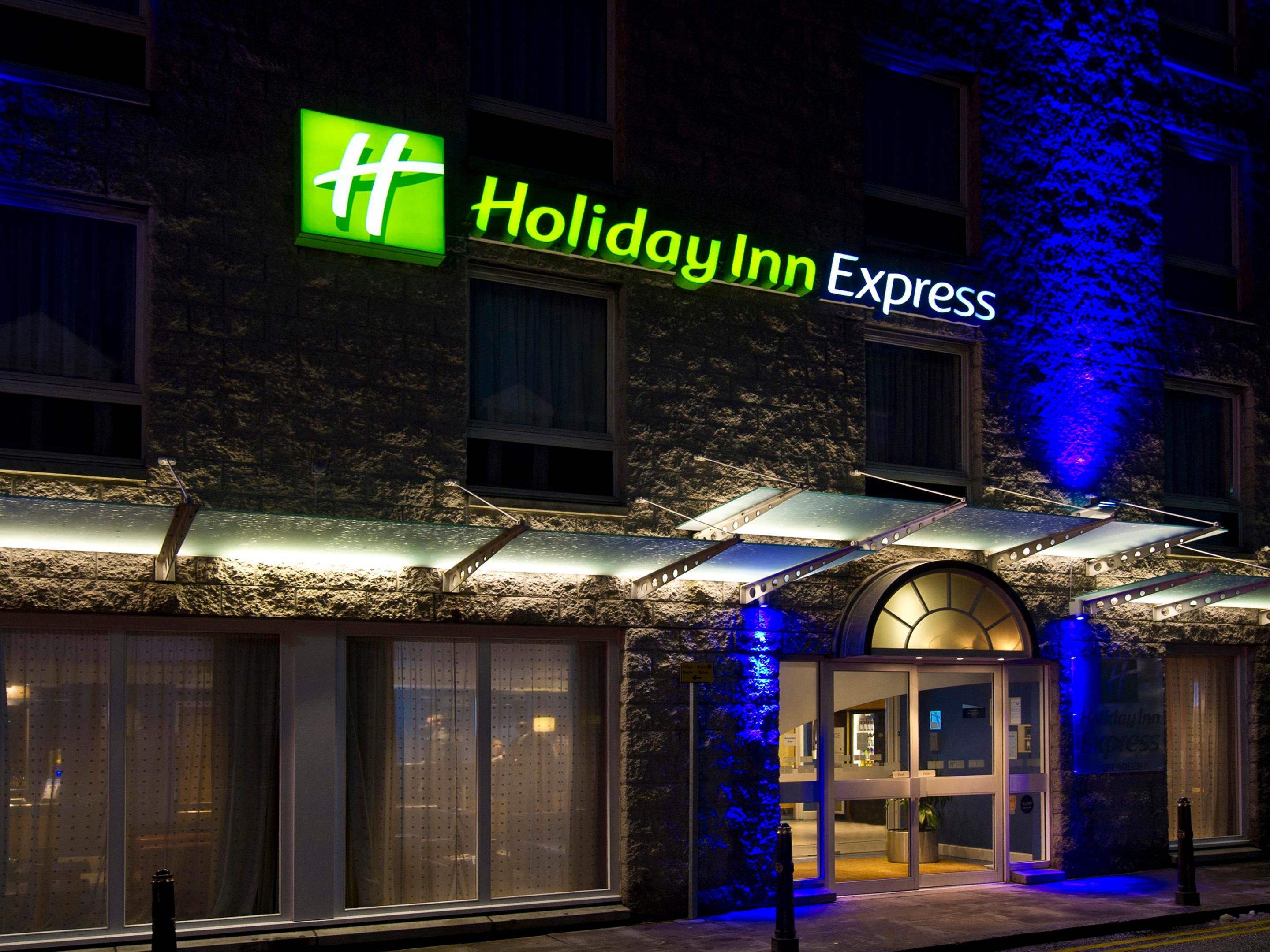 Holiday Inn Express Aberdeen City Centre from Chapel Street