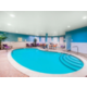 Indoor heated pool with climate controlled room