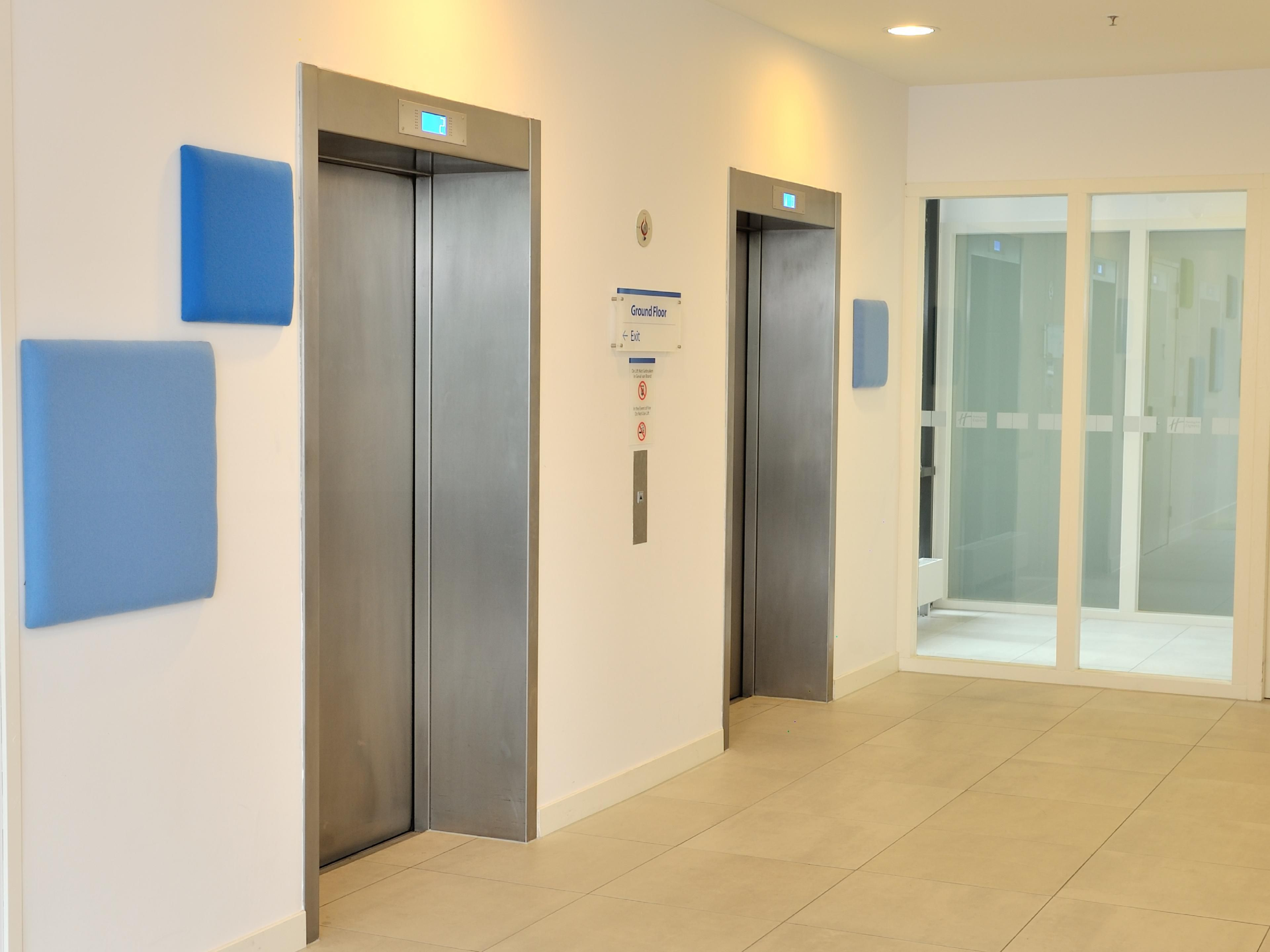 Elevators bring you to reception and Great Room at the 2nd floor.