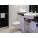 Badkamer met grote inloop douche
