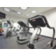 Our fitness center lets you work both cardio and weight