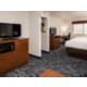 King Bed Suite TV View