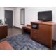 2 Queen Bed Suite Sofa TV area