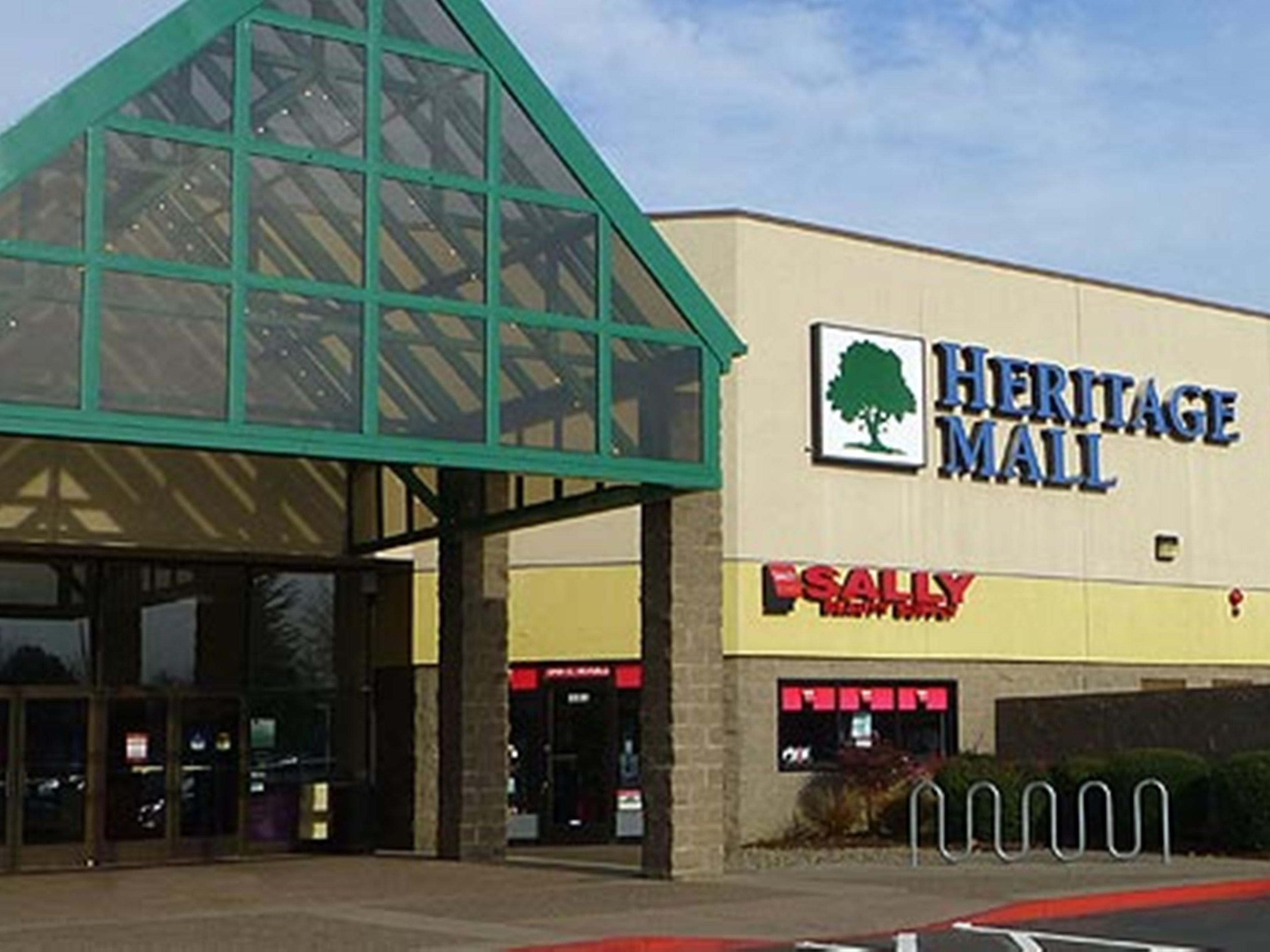 Heritage Mall less than 5 miles has Target, Hobby Lobby & more