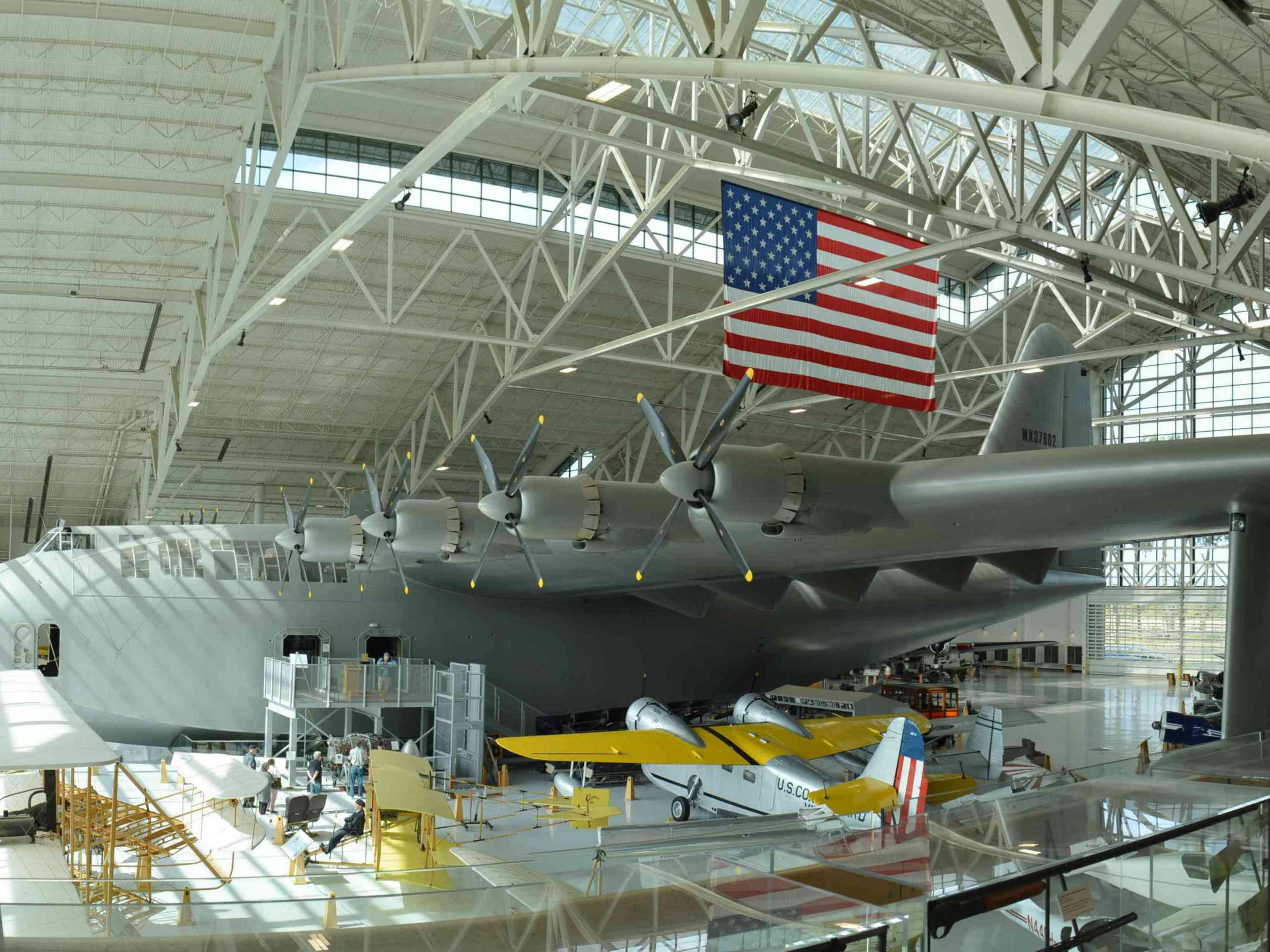 Evergreen Aviation & Space Museum located in McMinnville, Oregon