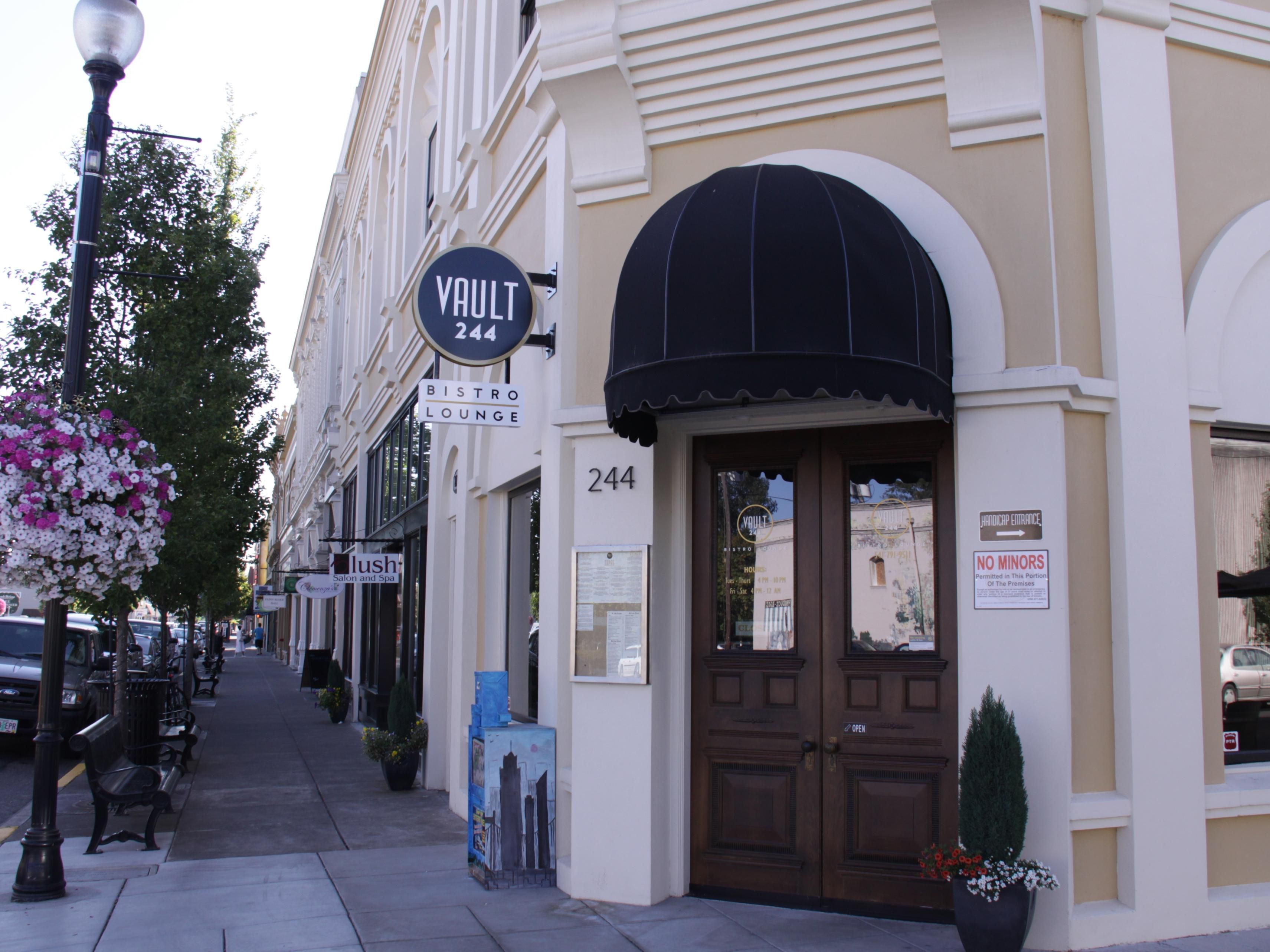 Vault 244 a local favorite for steak, seafood and cocktails