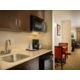 In-Suite Wet Bar with Microwave, Mini Fridge and Coffee/Tea Maker