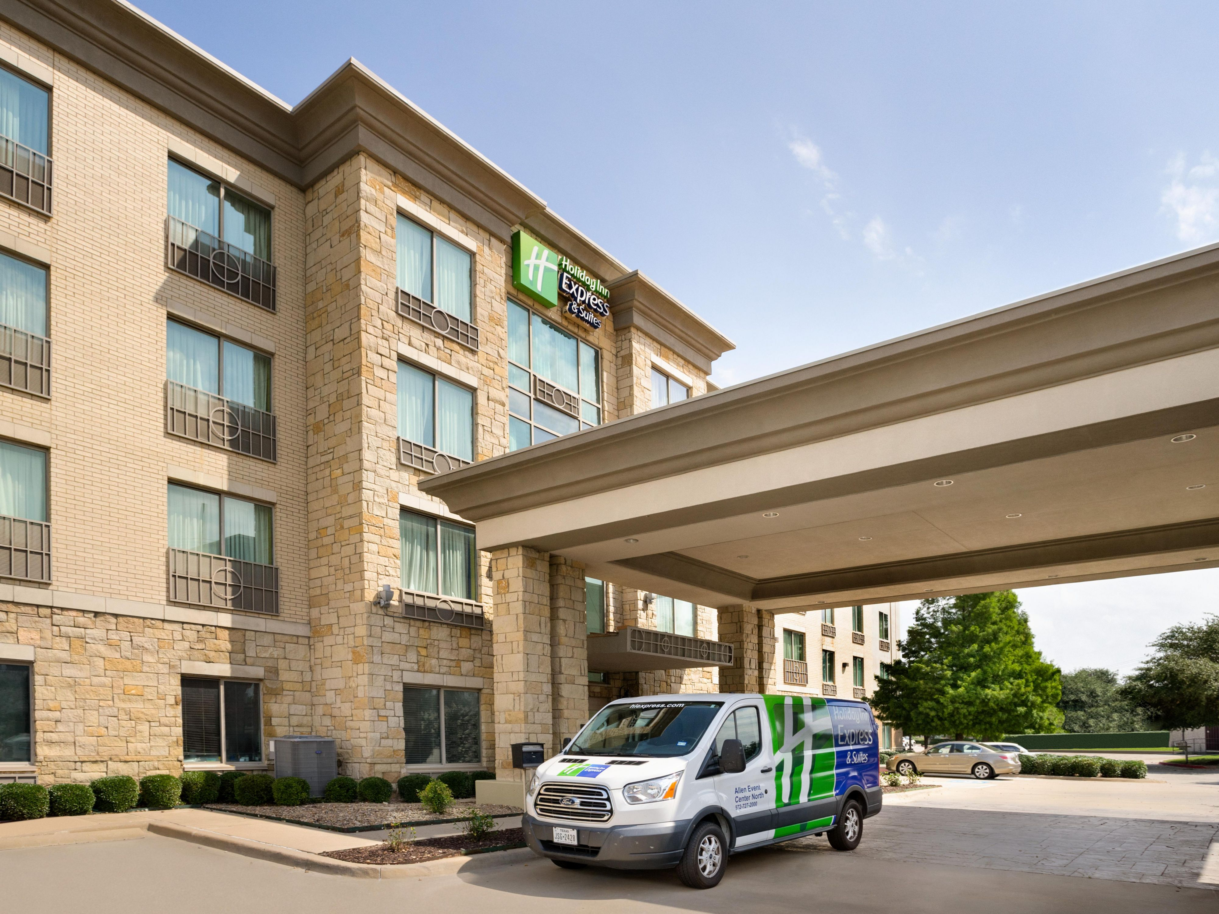Holiday Inn Express Suites Allen North Event Center Hotel In By Ihg