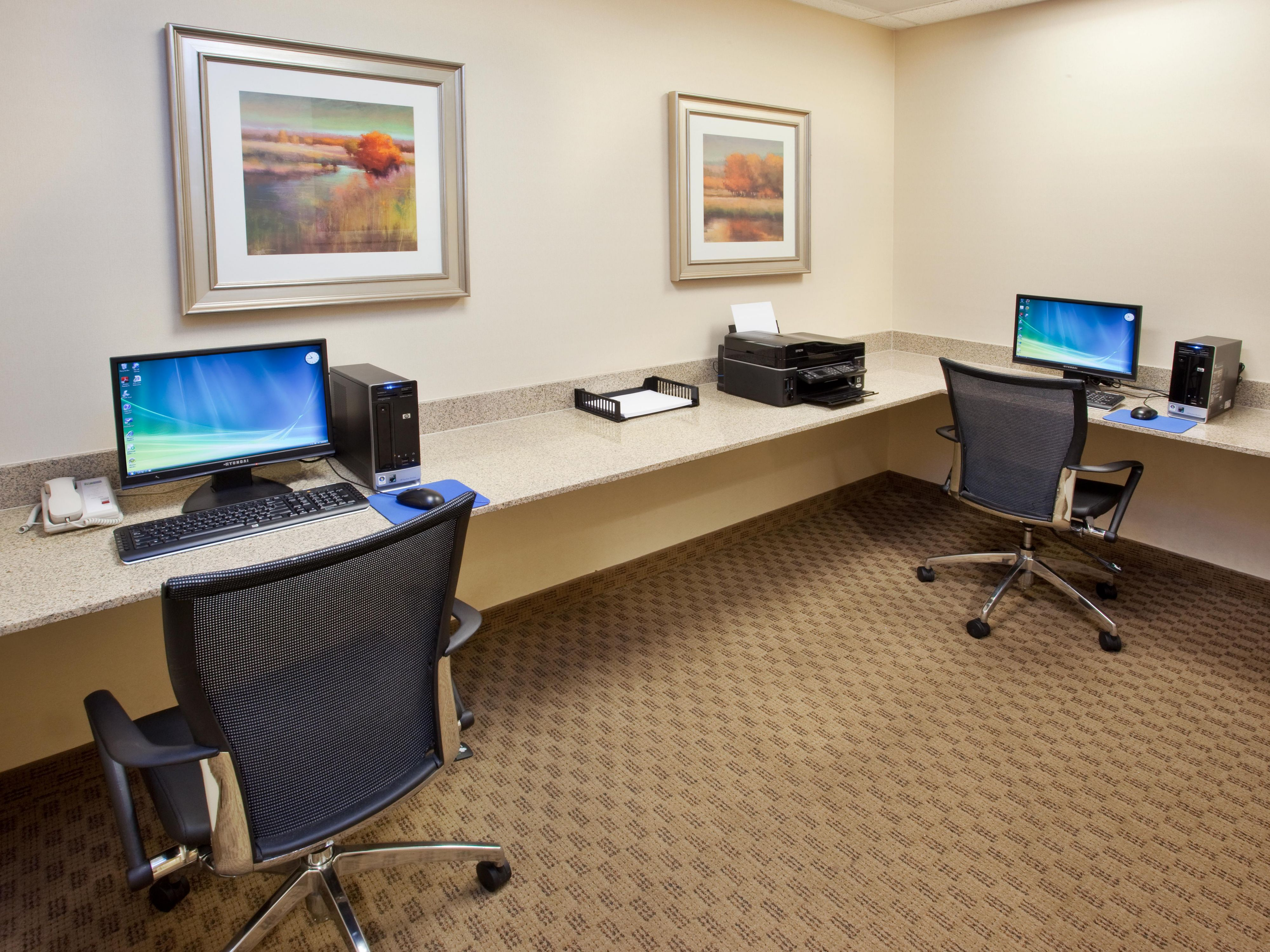 Stay in touch via our business center Napa Valley Hotel