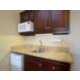 Our suites include a kitchenette with refrigerator and microwave