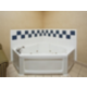 Our Executive Suite features a two person whirlpool tub.