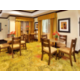 Holiday Inn Express & Suites serves guests hot breakfast daily
