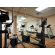 Free weights, Elliptical, Treadmill & Bike