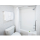 Executive Suite Bathroom with Curved Rod and Power Shower