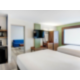 Spread Out in the Double Queen Suite with Swivel HDTV