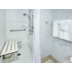Fully Equipped Shower in the King Accessible Room