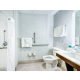 Spacious Bathroom in the King Accessible Room
