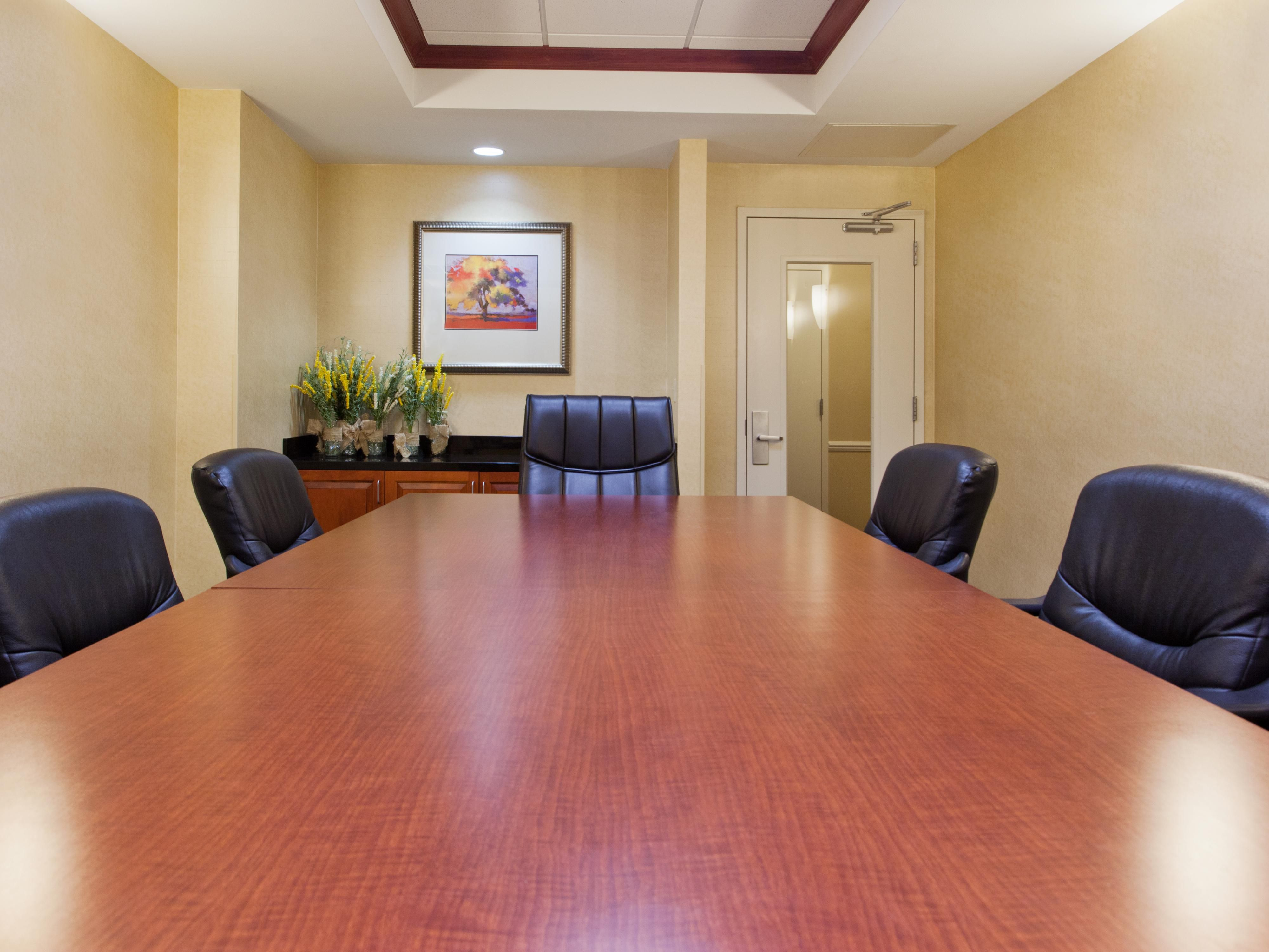 Make use of our 10 person Boadroom meeting space