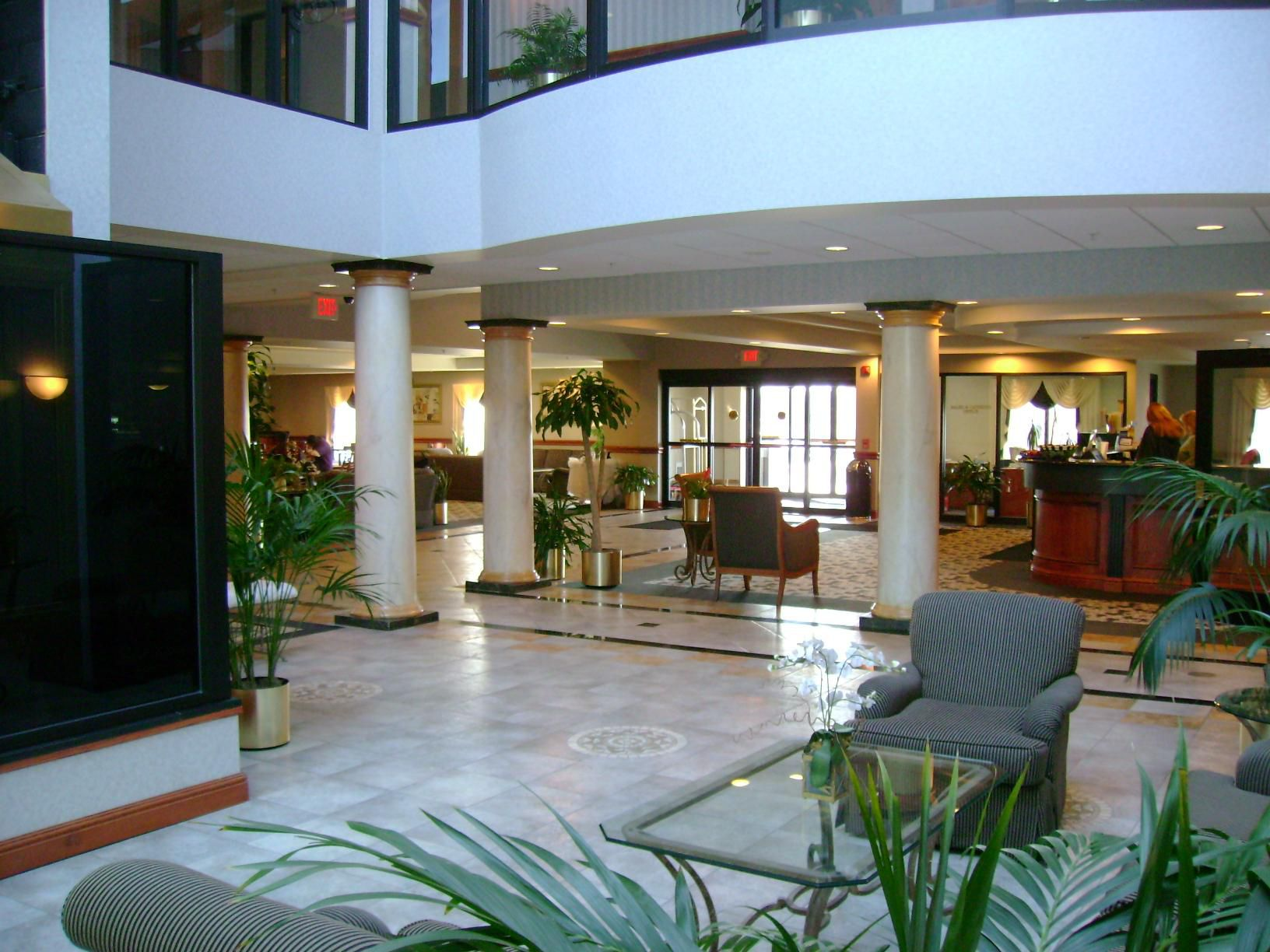 Reception Main Lobby