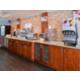 Express Start Breakfast Bar featuring the pancake machine