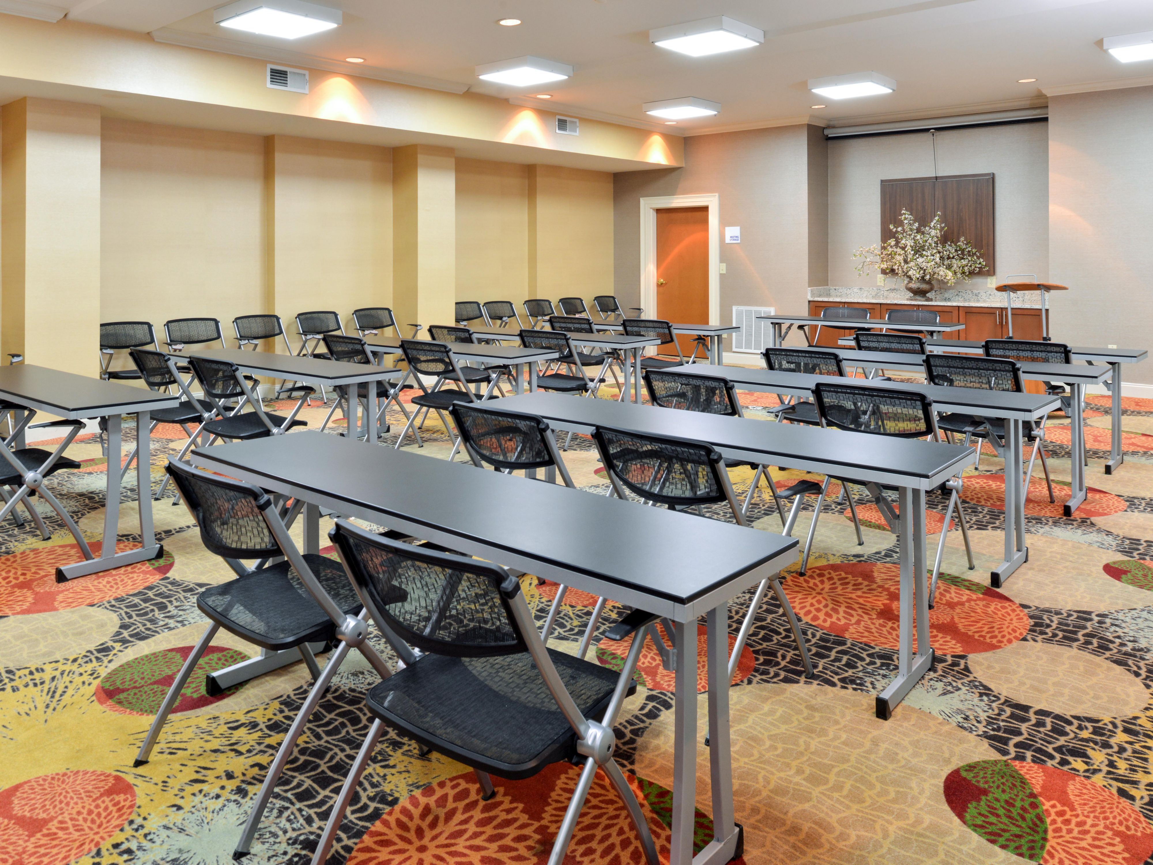 Meeting room at the Holiday Inn Express Bessemer