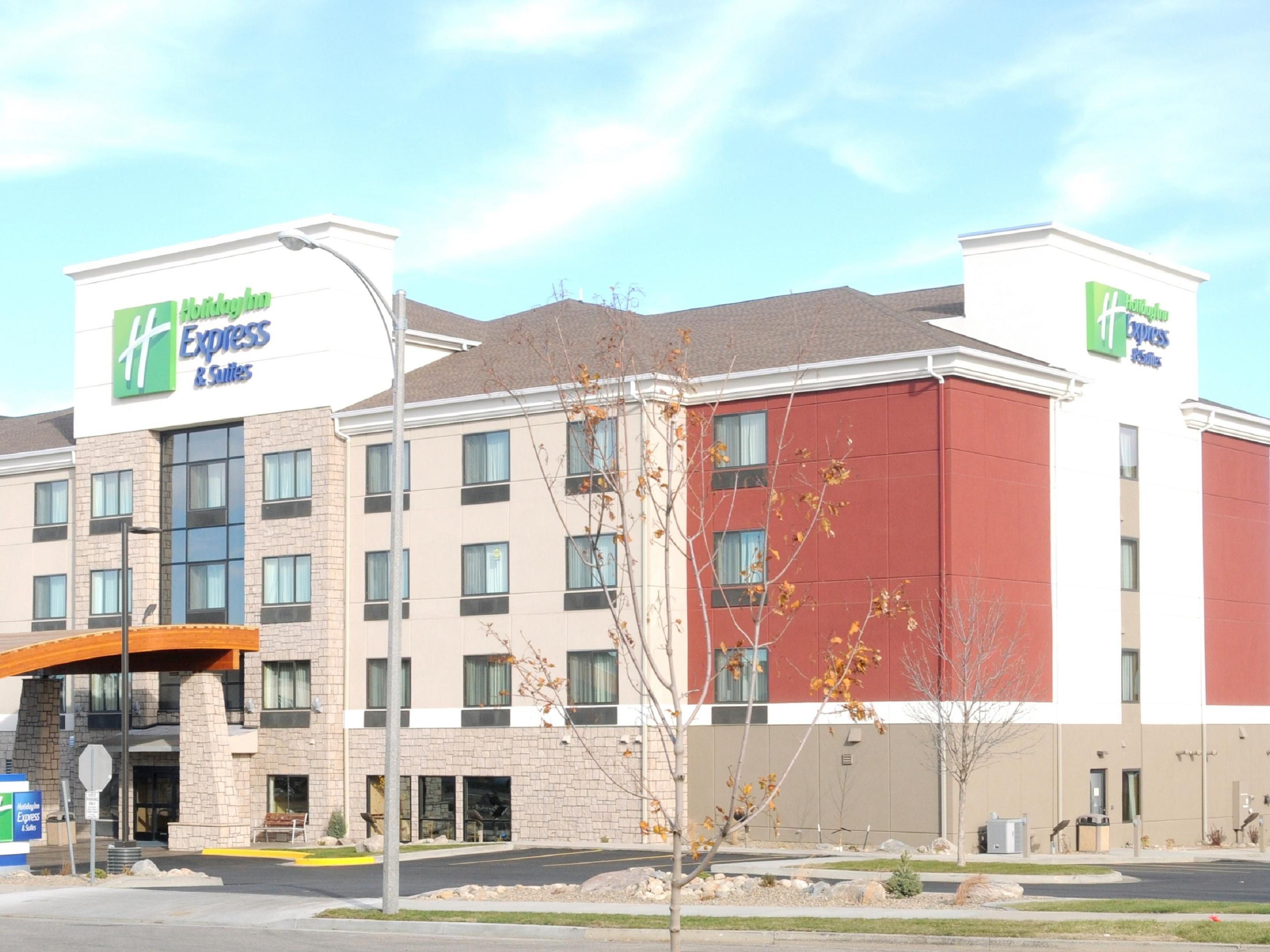 Welcome to the Holiday Inn Express & Suites in Bismarck