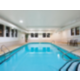 Swim in our indoor pool after visiting Perry Farm