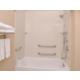 Guest Bathroom w/ accessible tub